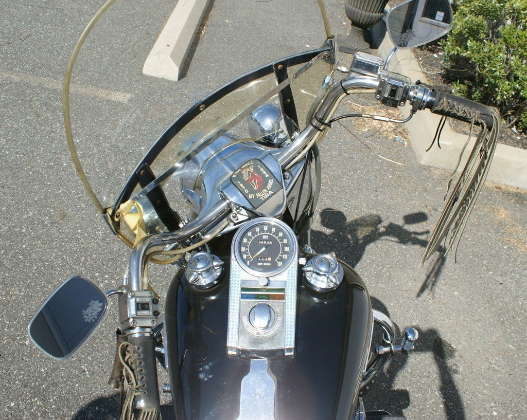 13: 1976 Harley Davidson FLH, clean, rideable, titled,  - 6