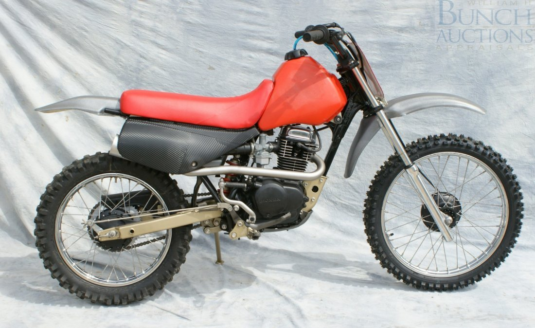 22: Honda XR100, rebuilt engine and cosmetics, runs exc
