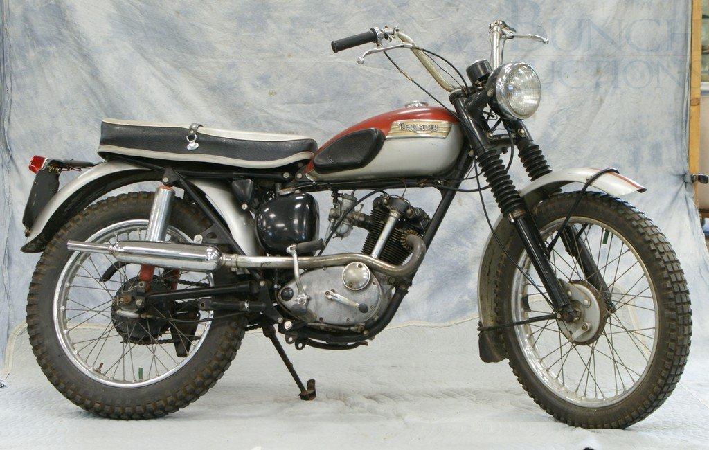43: 1963 Triumph Tiger Cub, 200cc, all original, runs a