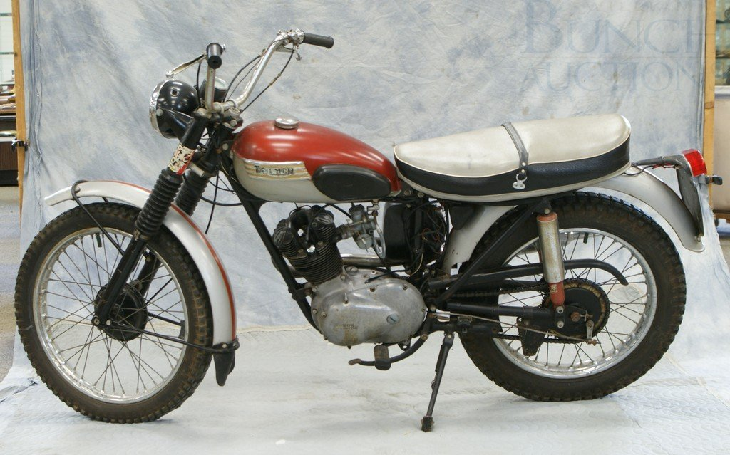43: 1963 Triumph Tiger Cub, 200cc, all original, runs a - 2