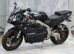 2002 Triumph Daytona 955i 3 Cylinder Motorcycle, Lo