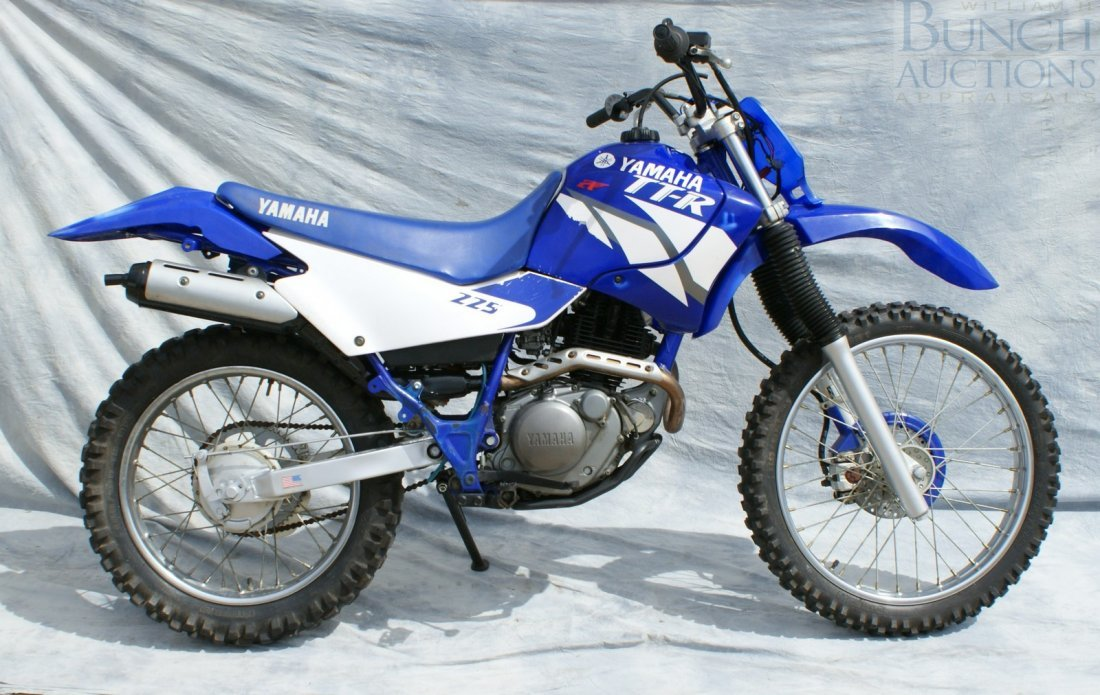 55: 2000 Yamaha TTR225, rebuilt head and top end, elect