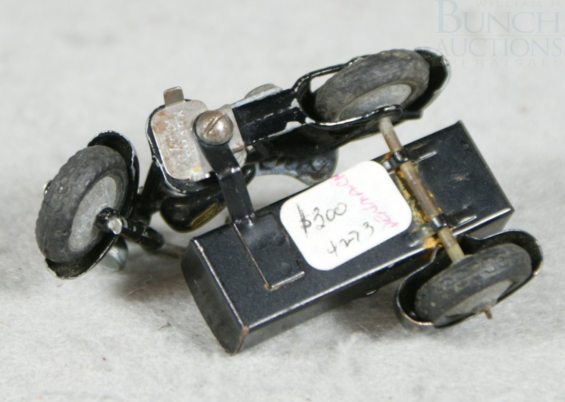 3A: Tekno Motorcycle sidecar toy, circa 1930's, from De - 3