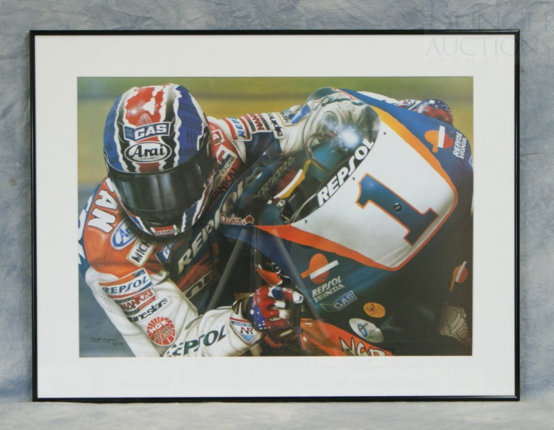 "5: Steve Whyman print 10/98, signed 128/1000, 26"" x 34"""