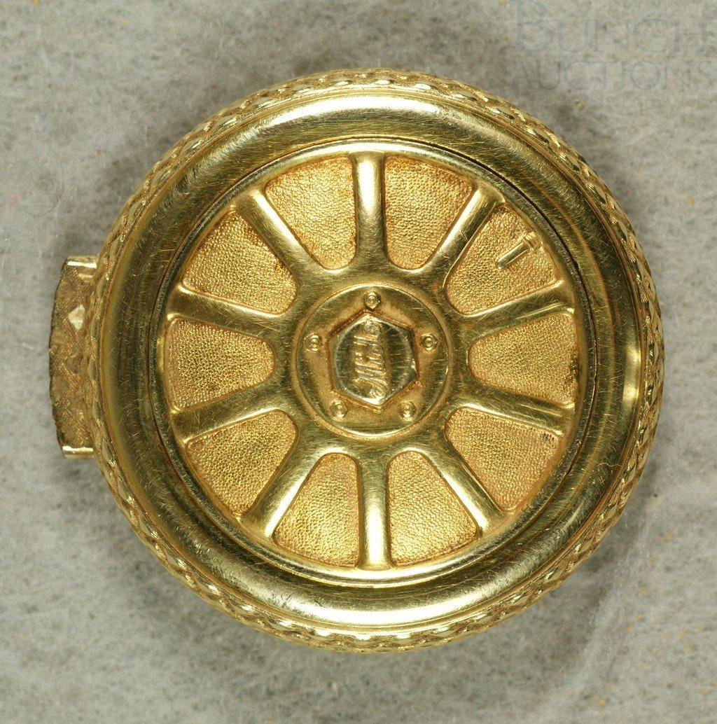 6A: A rare Mido Bugatti wheel pocket watch, late 1920s,
