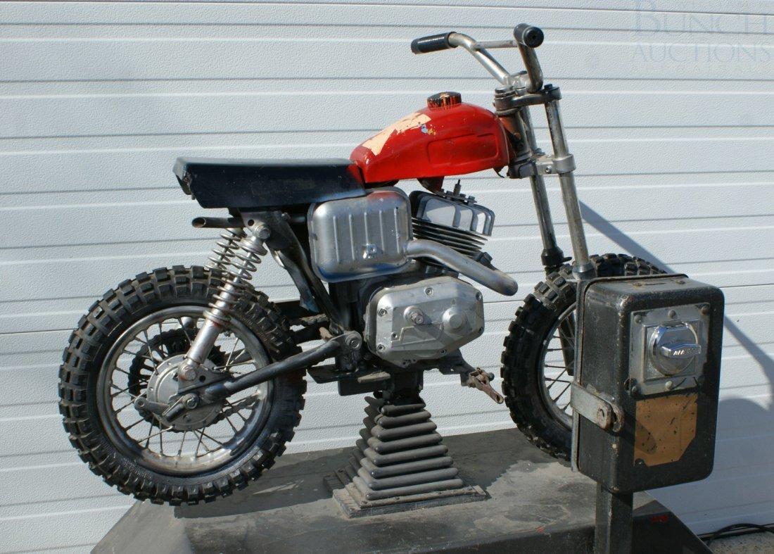 11: Italjet mini bike converted and mounted as a coin o - 2