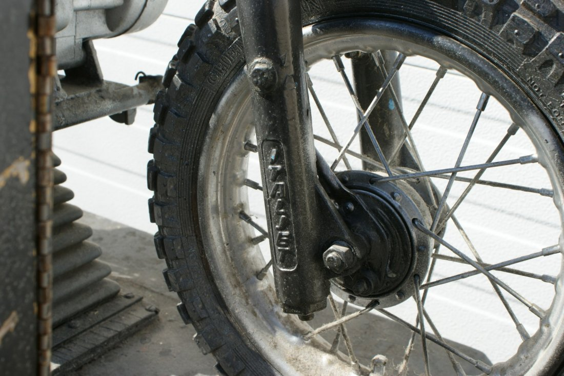 11: Italjet mini bike converted and mounted as a coin o - 3