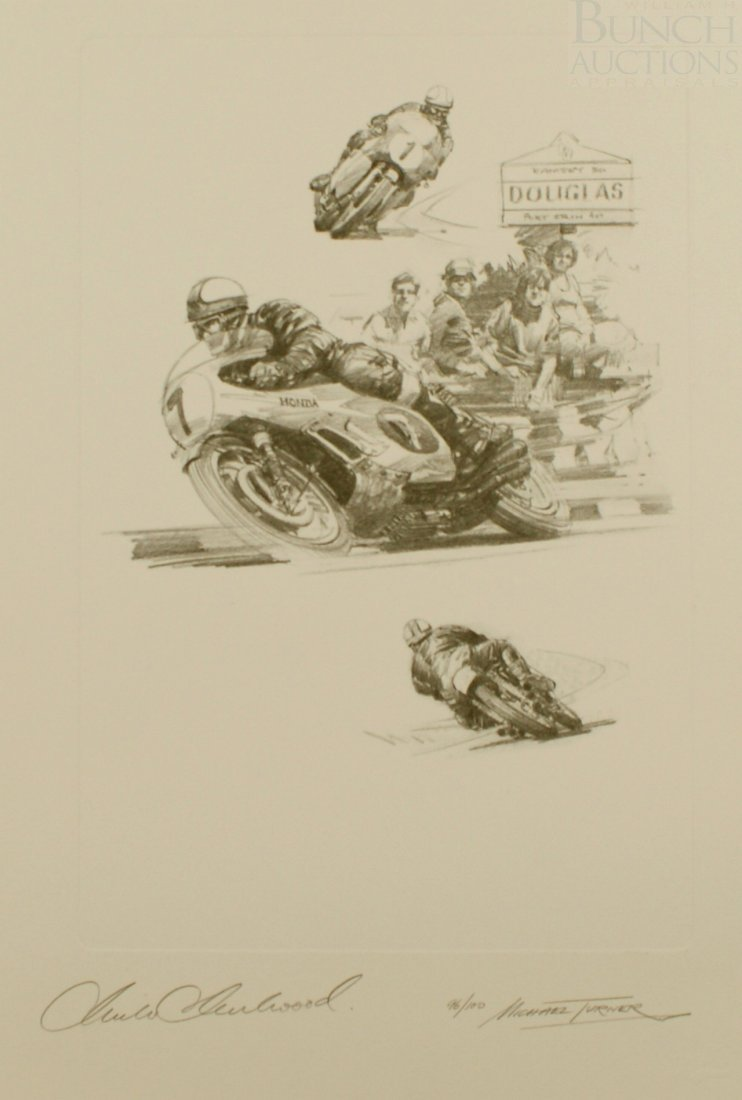 15A: Michael Turner, English, LE lithograph on Donningt