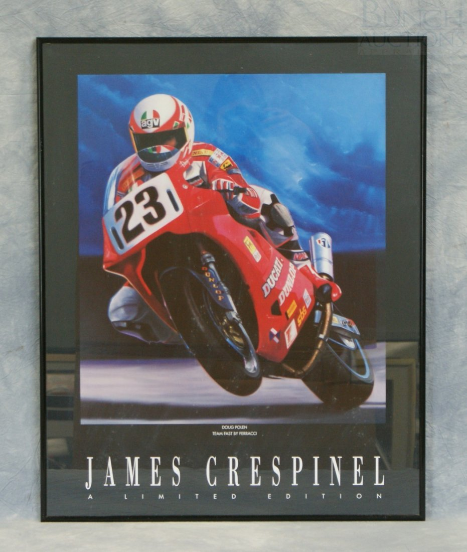 "18: James Crespinel limited edition print ""Doug Polen T"