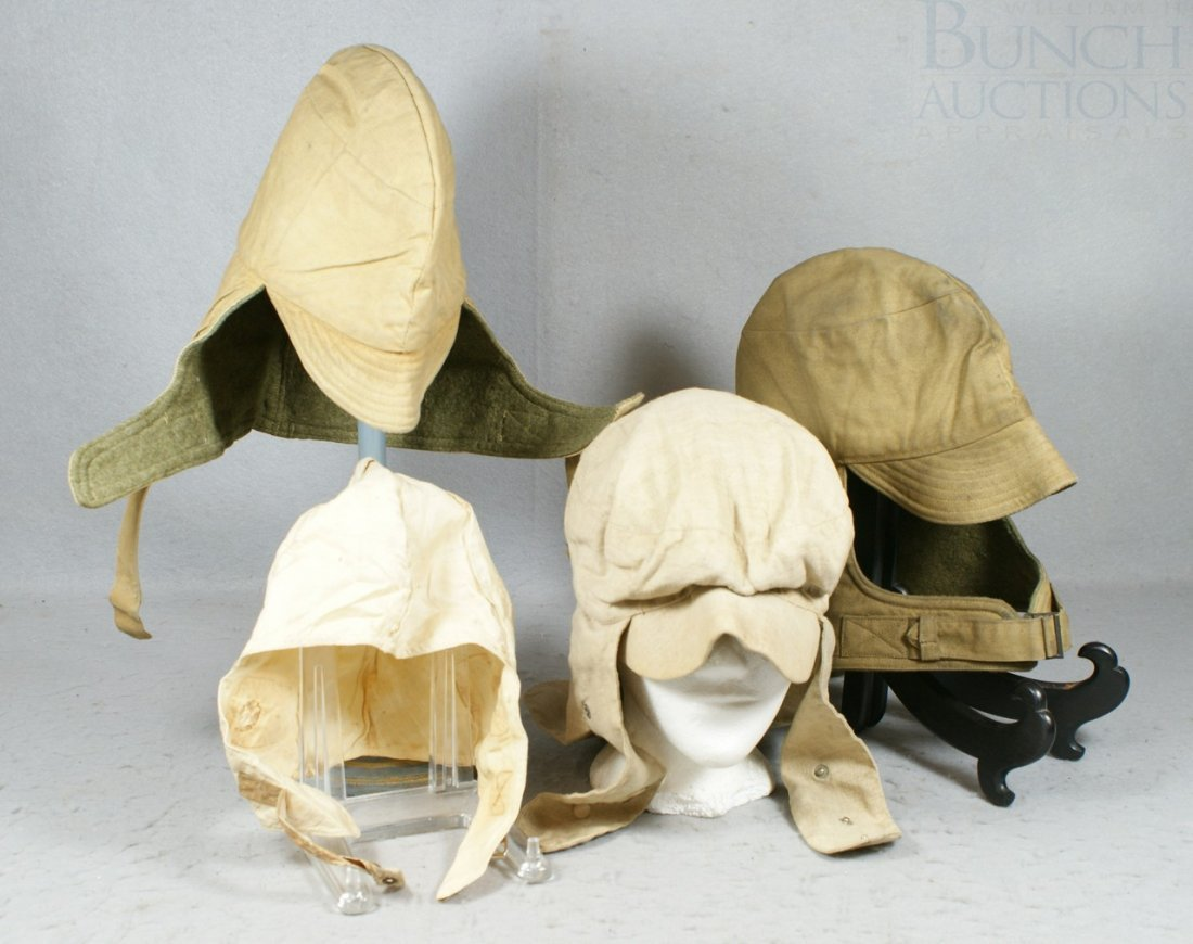36A: (4) cloth riding/driving hats