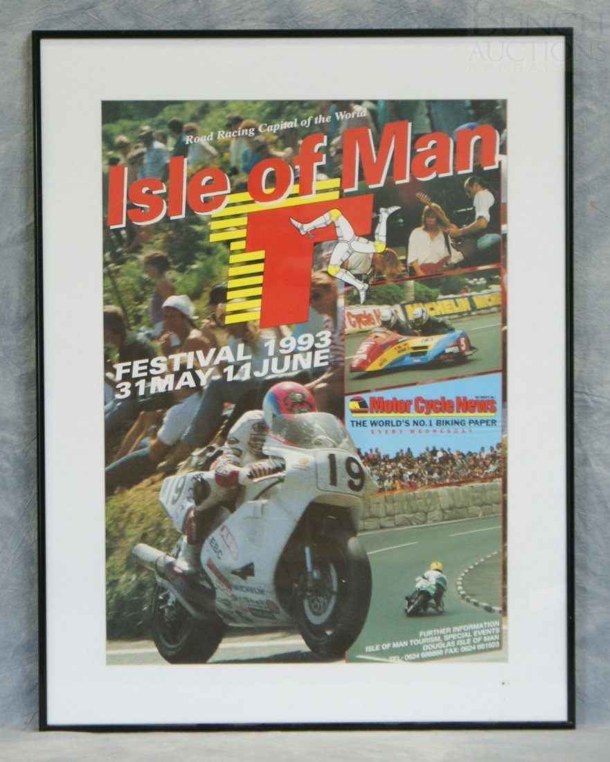 39: Isle of Man Festival 1993 event poster, unsigned &
