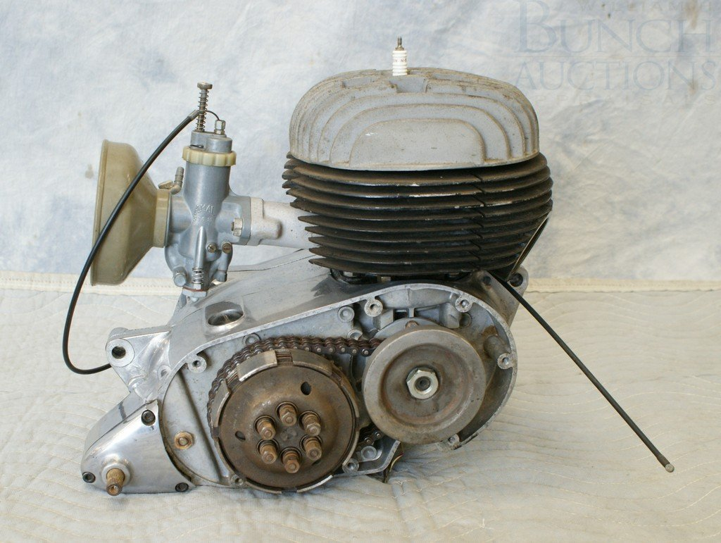 77: Bultaco Engine, complete, believed to be 175cc