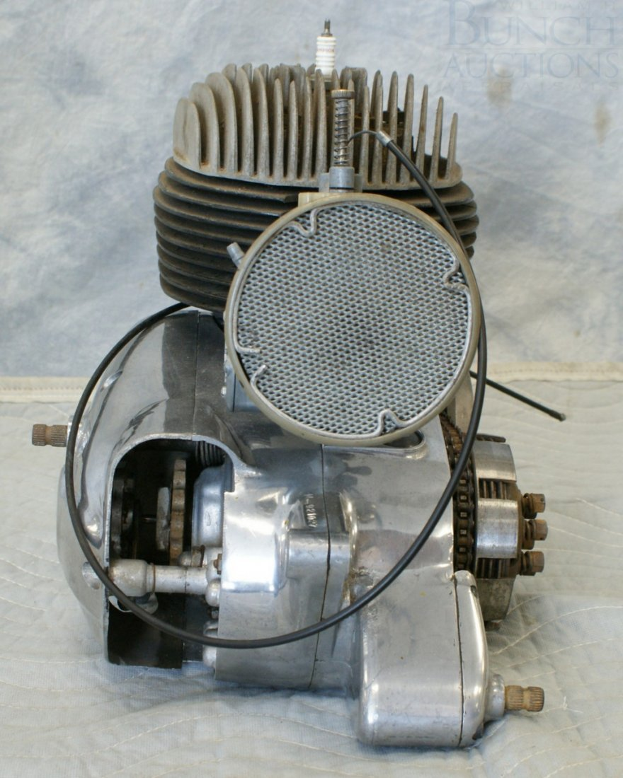 77: Bultaco Engine, complete, believed to be 175cc - 2