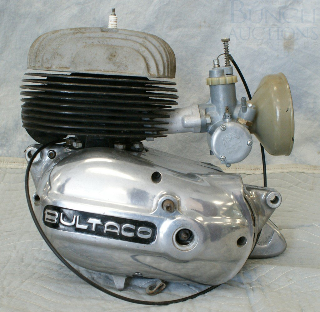 77: Bultaco Engine, complete, believed to be 175cc - 3