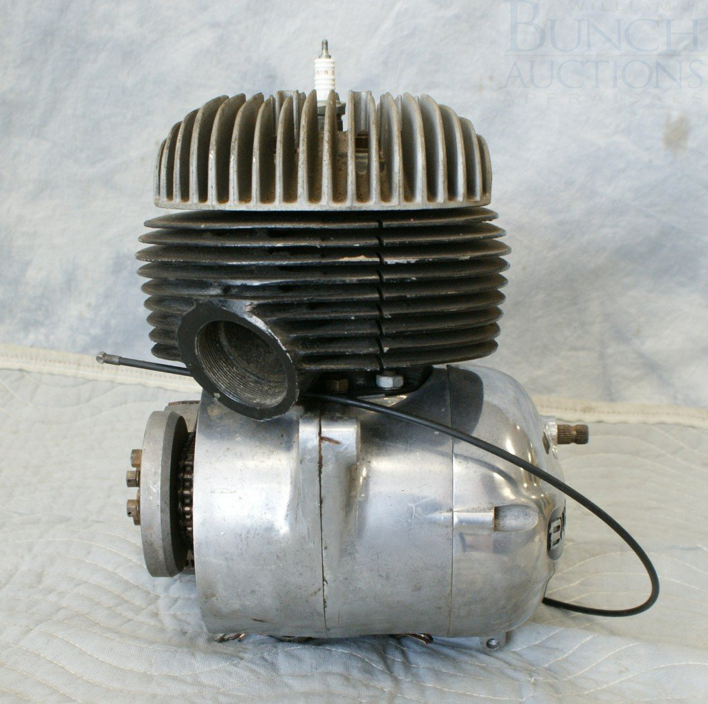77: Bultaco Engine, complete, believed to be 175cc - 4