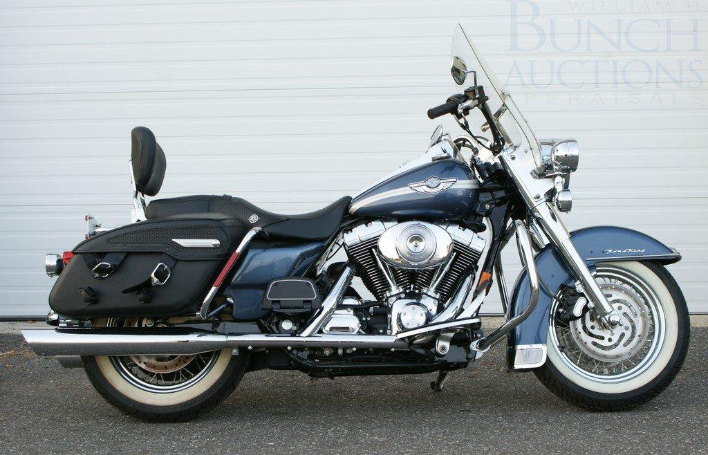 175: 2003 Harley Davidson Road King, has title, Displac