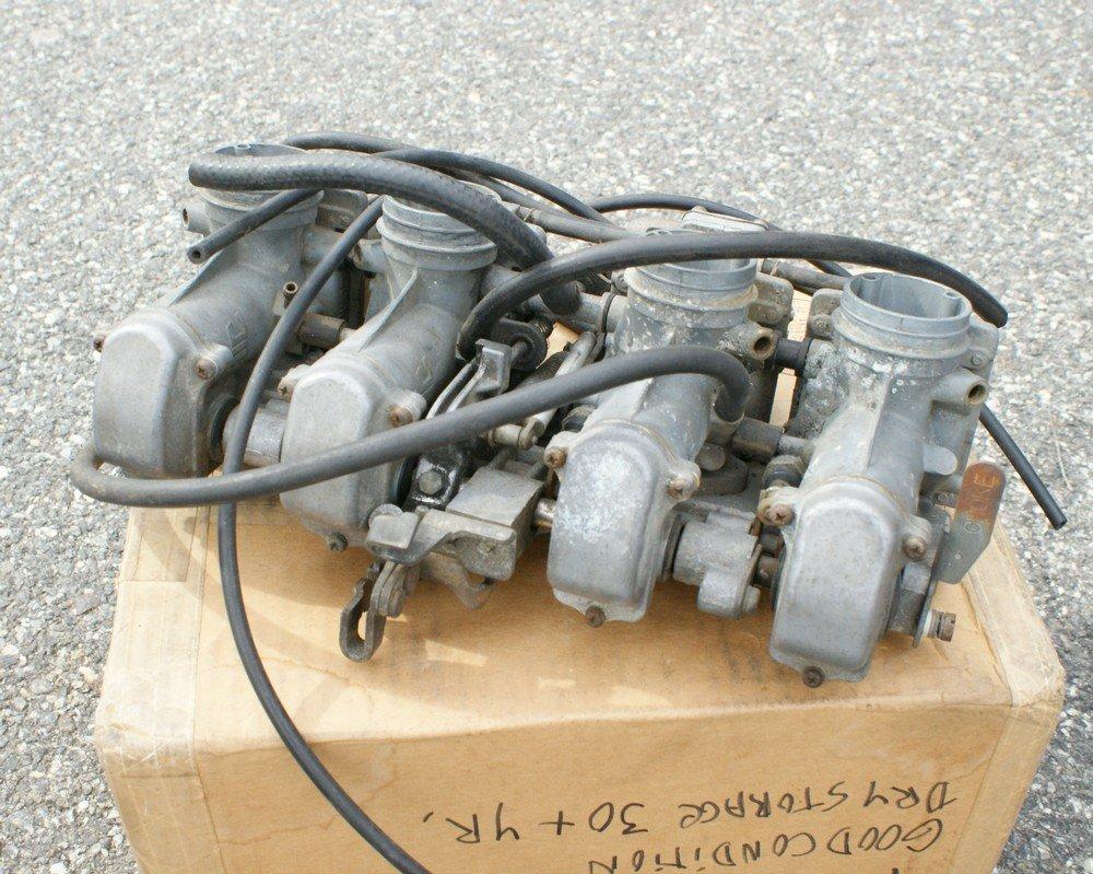 184: set 4 Mikuni carbs KAW900/1000 Suzuki 750/1000 70'