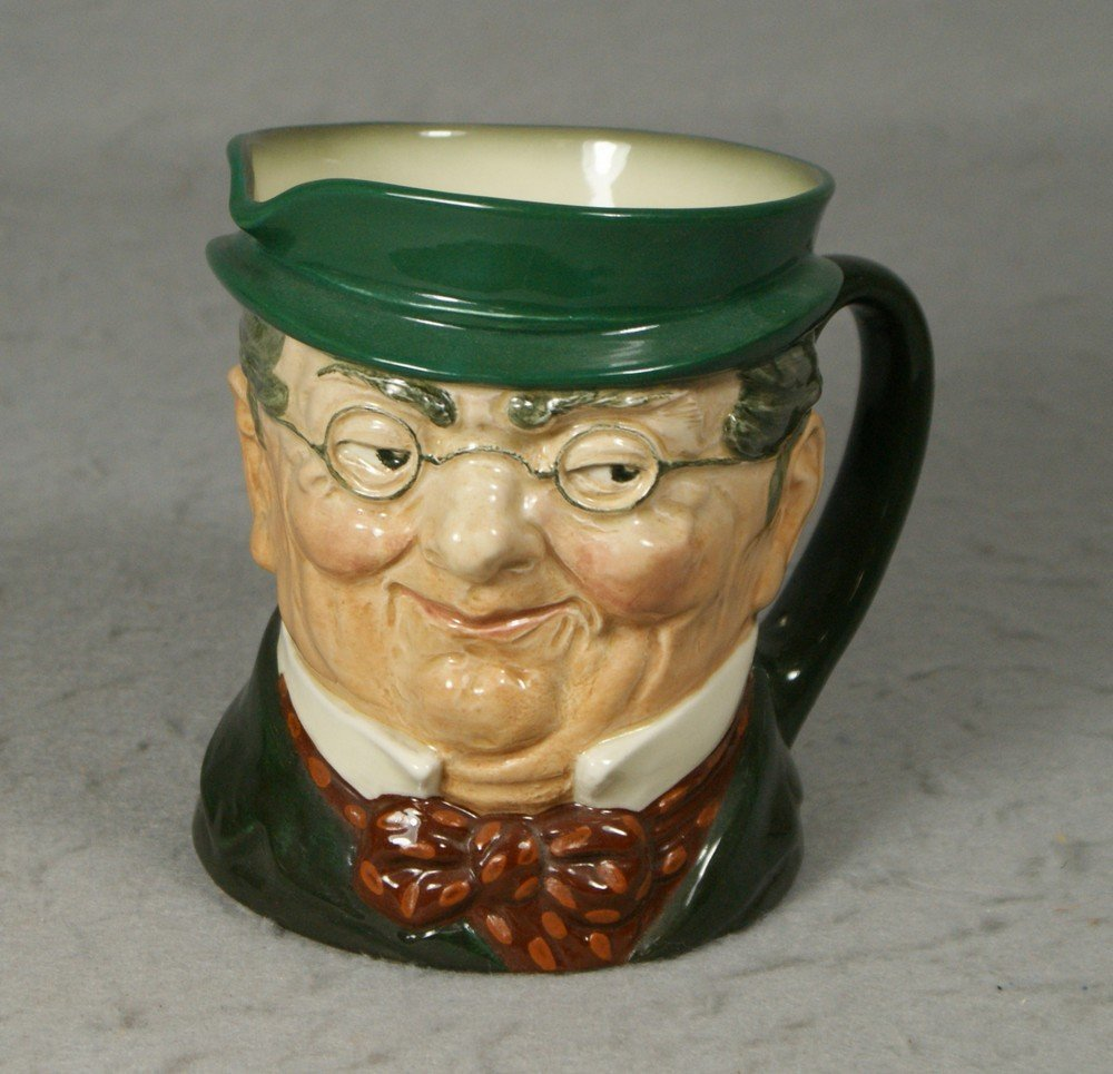 3001: Royal Doulton Mr Pickwick toby jug, c 1939-1955,