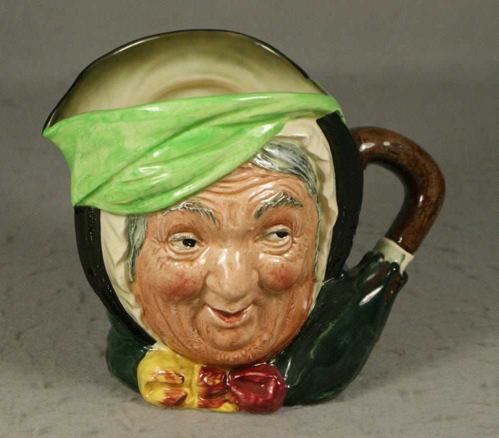 3003: Royal Doulton Sairey Gamp toby jug, c 1939-1955,