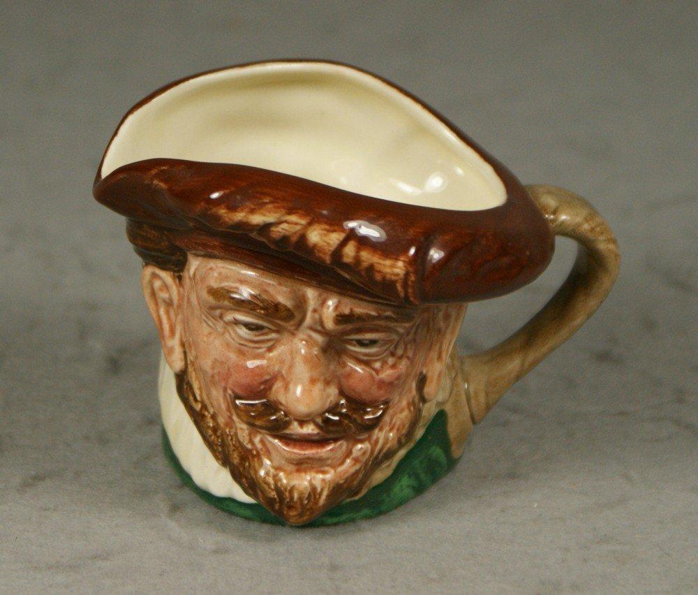 "3006: Royal Doulton Drake toby jug, c 1939-1955, 3 1/8"""