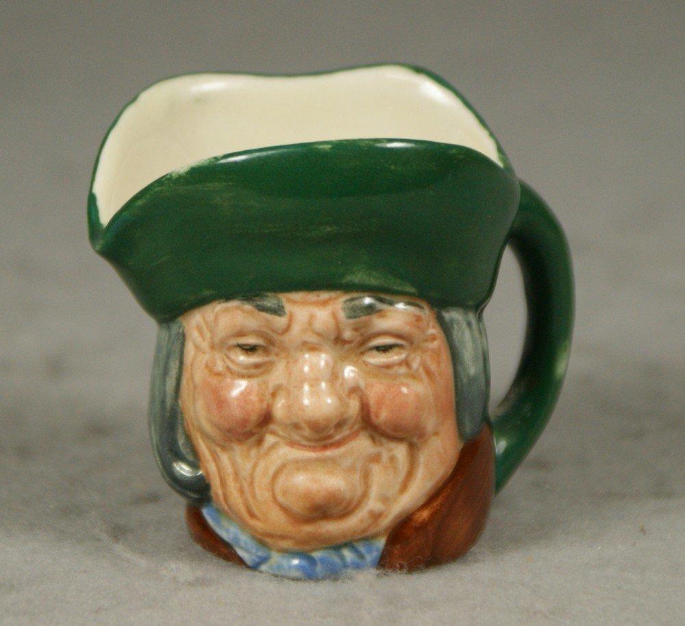 3008: Royal Doulton Toby Philpotts miniature toby jug,