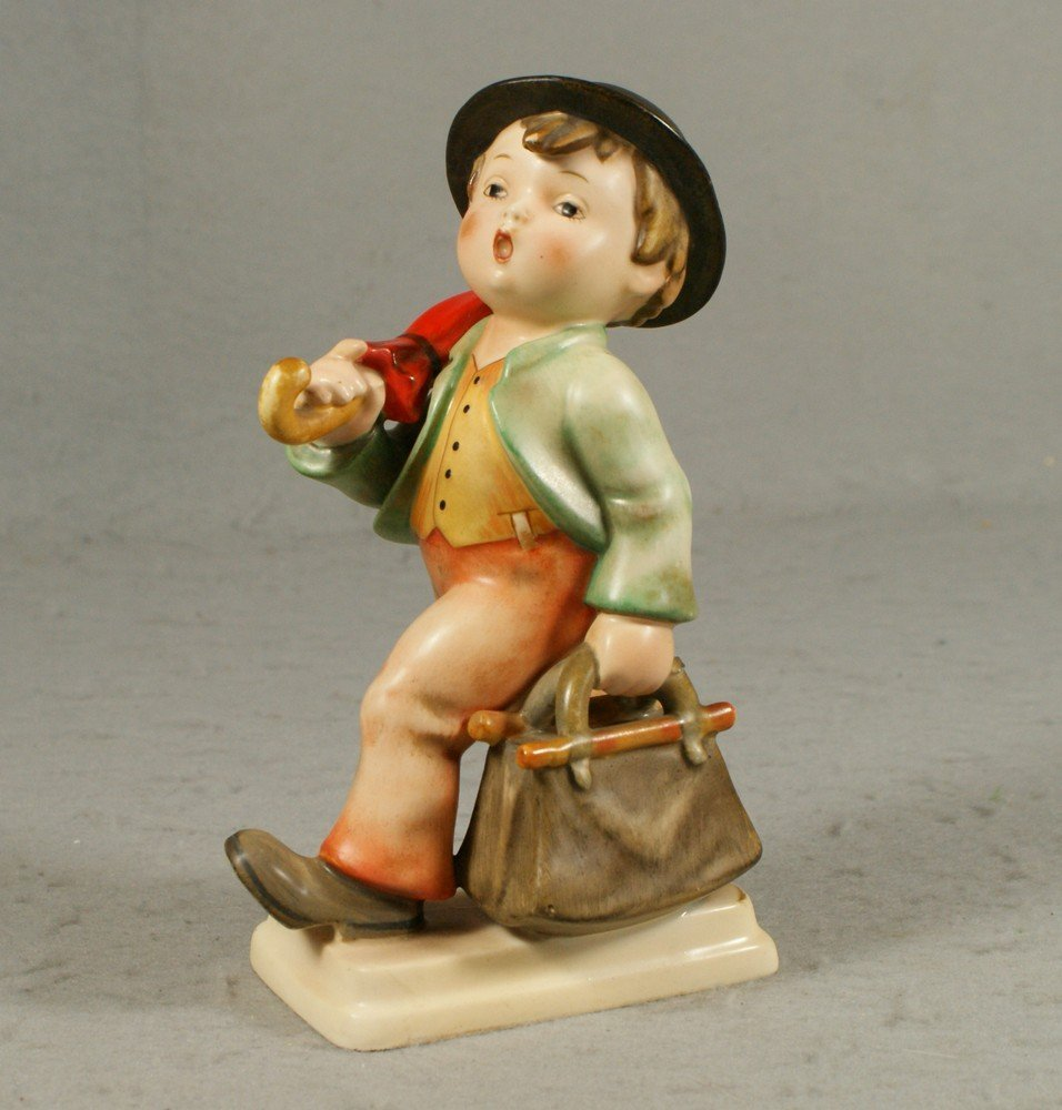 "3010: Hummel figurine, ""Merry Wanderer"", number 7, TM 1"