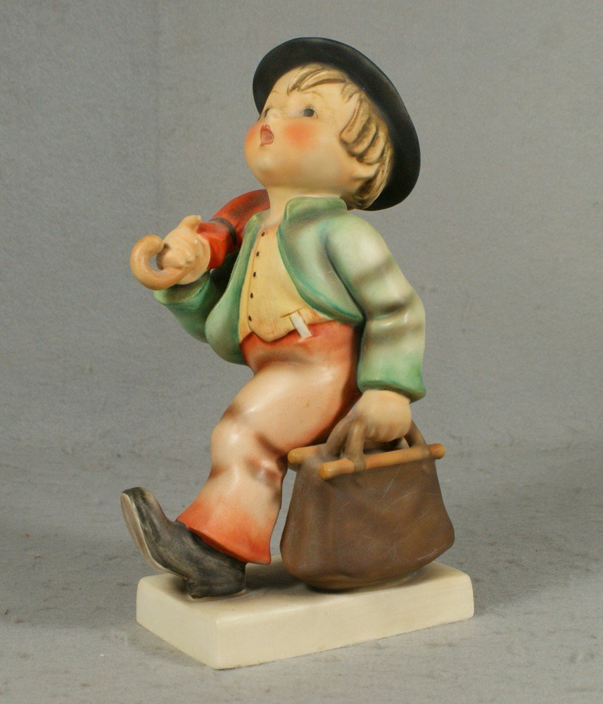 "3014: Hummel figurine, ""Merry Wanderer"", number 11, TM"