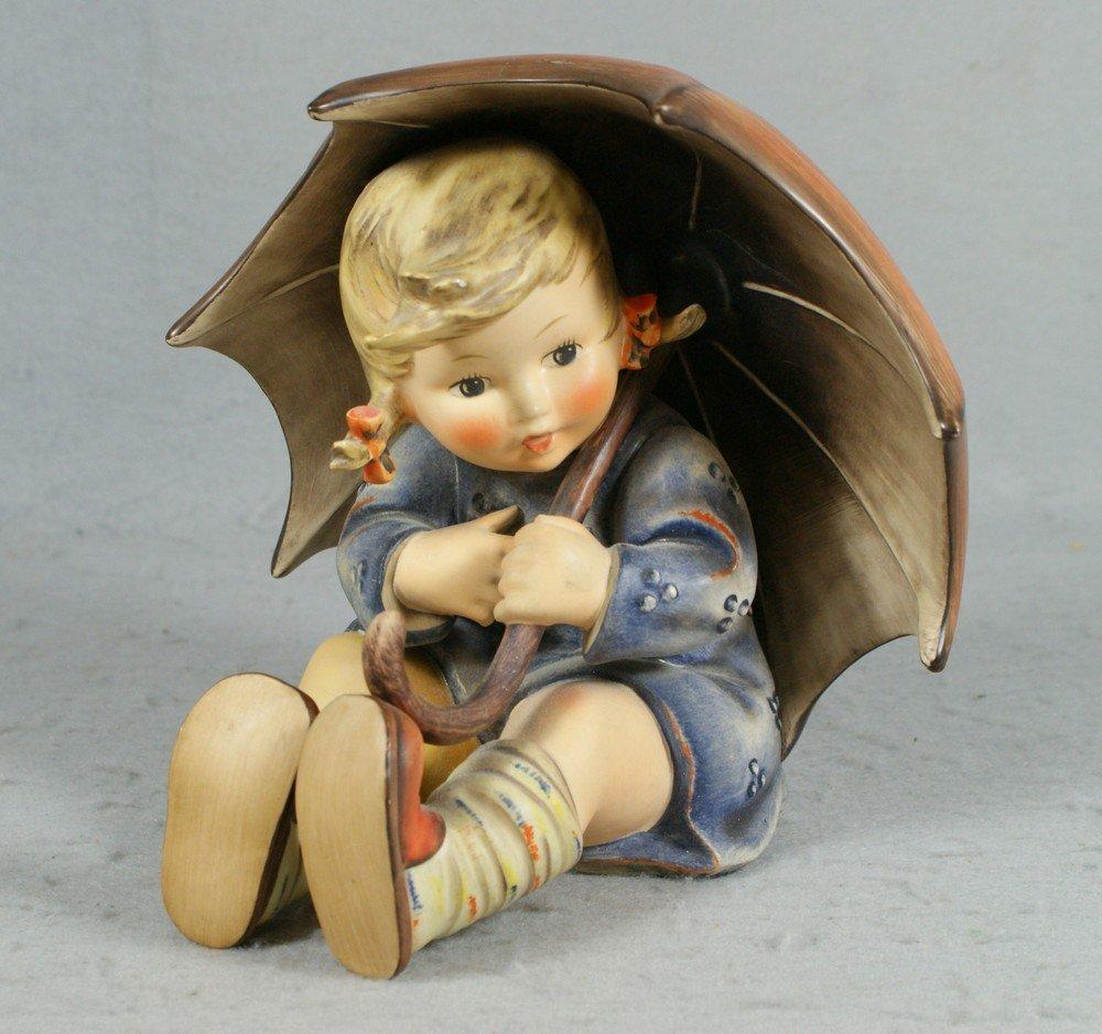 "3016: Hummel figurine, ""Umbrella Girl"", no 152, 7-1/2"""
