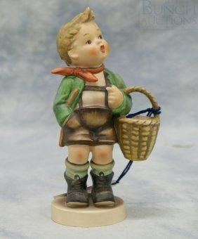 "Hummel Figurine ""Village Boy"" No 51/0, 6 1/4"" Tal"