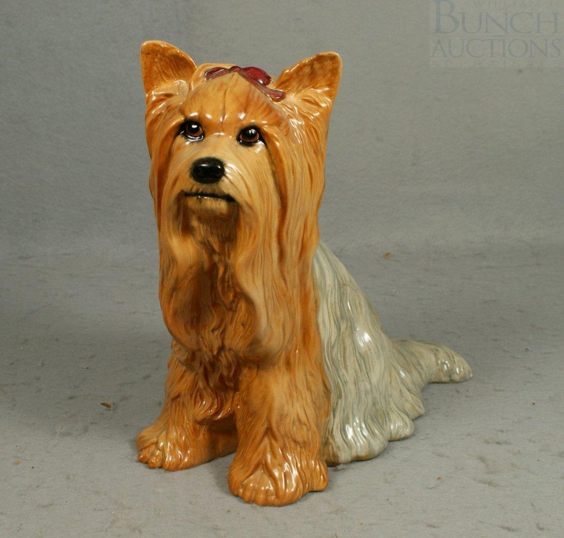 "3041: Beswick Yorkie figurine, 10"" tall"