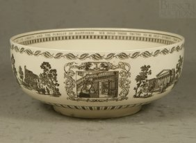 Wedgwood The Liberty Bowl, Showing The Signing Of