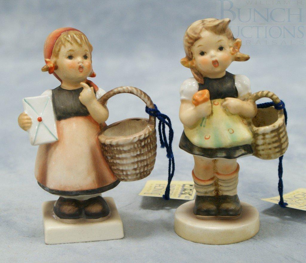 "3073: (2) Hummel figurines ""Sister"" no 98 2/0, 4 1/2"" t"
