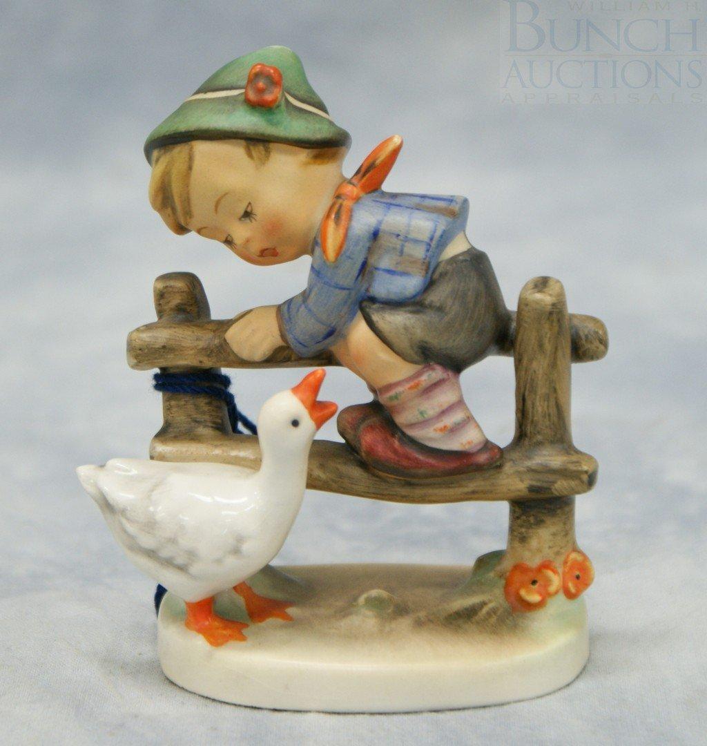 "3078: Hummel figurine ""Barnyard Hero"" no 195 2/0, 4"" ta"