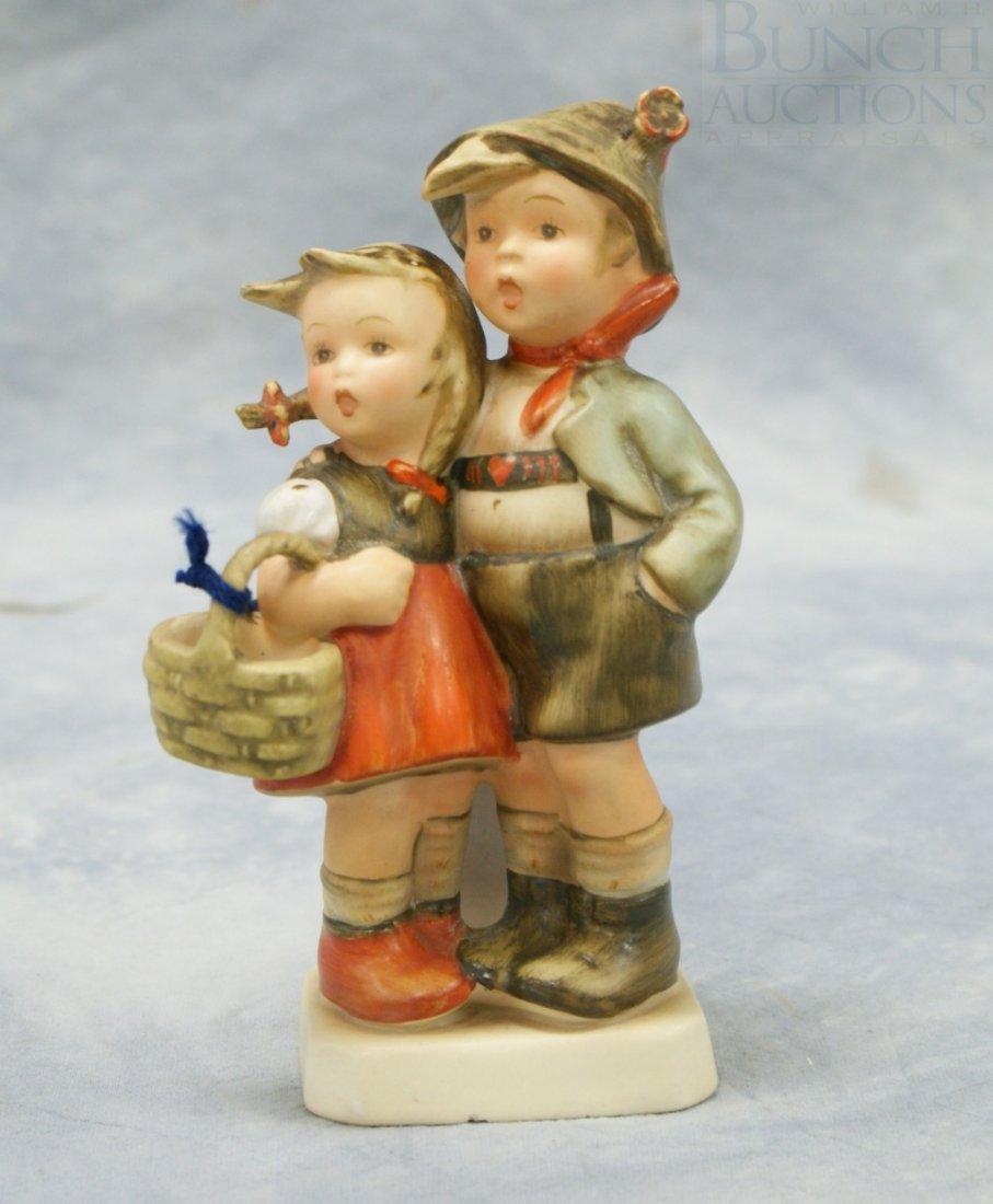 "3082: Hummel figurine ""Surprise"" no 94,  6"" tall, full"