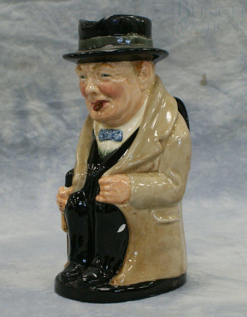 3009A: Royal Doulton Winston Churchill toby jug,
