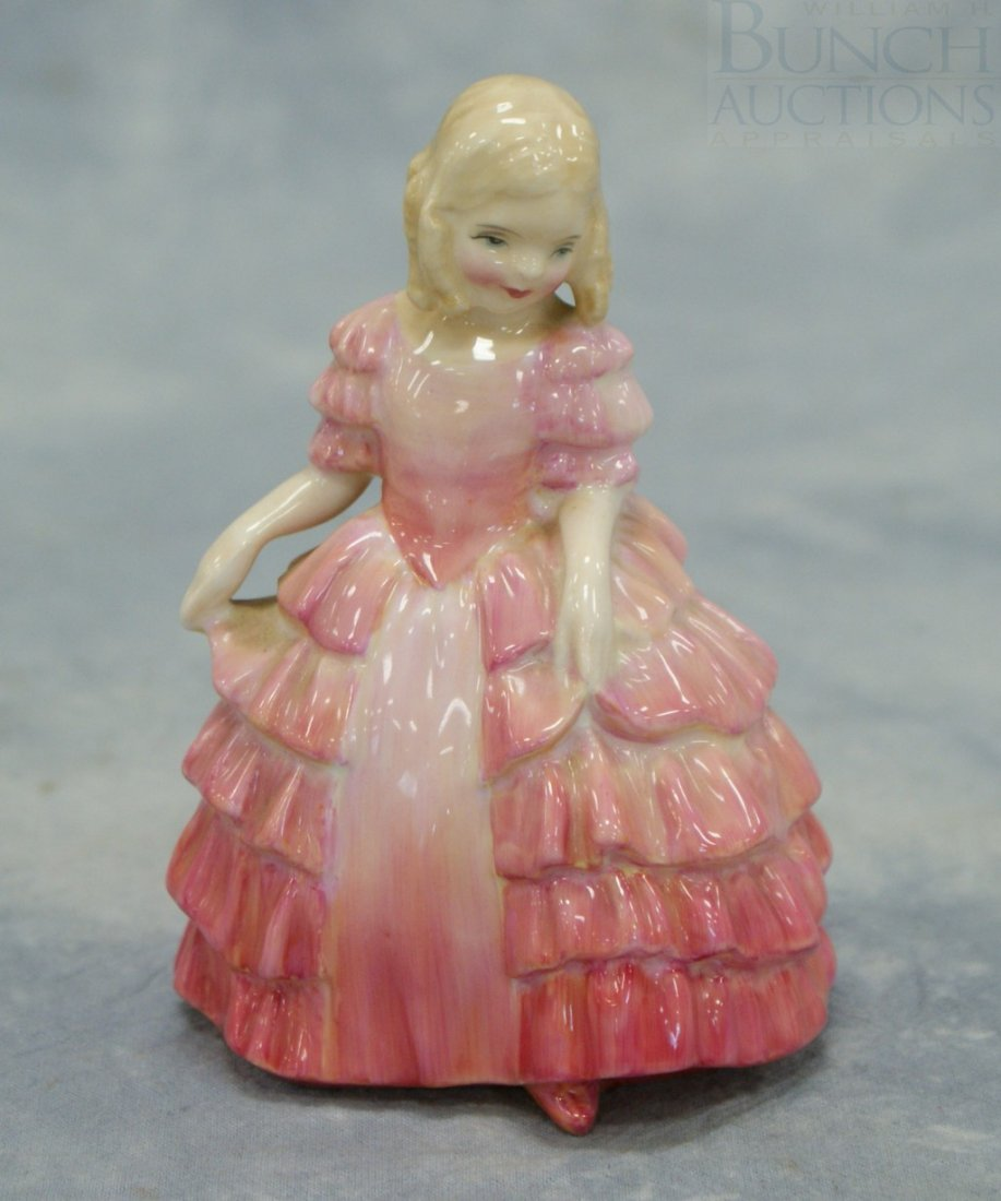 """3044A: Royal Doulton, """"Rose"""" figurine, 5"""" tall"""