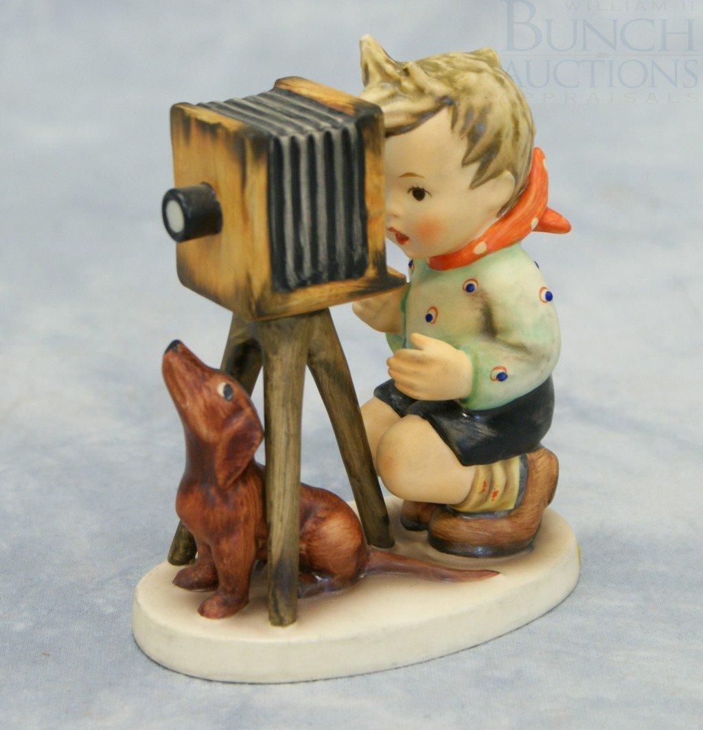 "3086: Hummel figurine, ""The Photographer"" no 178, TMK-6"