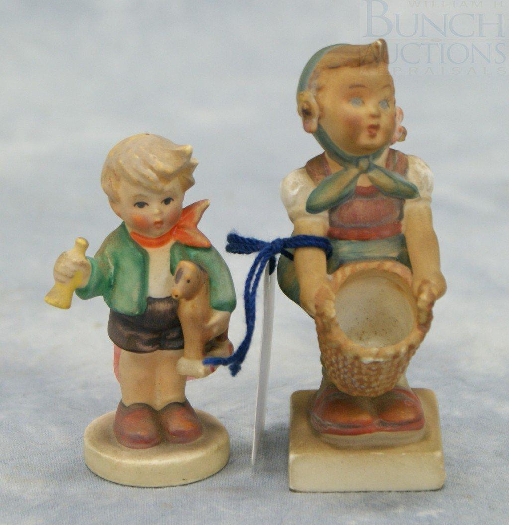 "3088: (2) Hummel figurines, ""Little Helper"" no 73, TMK-"