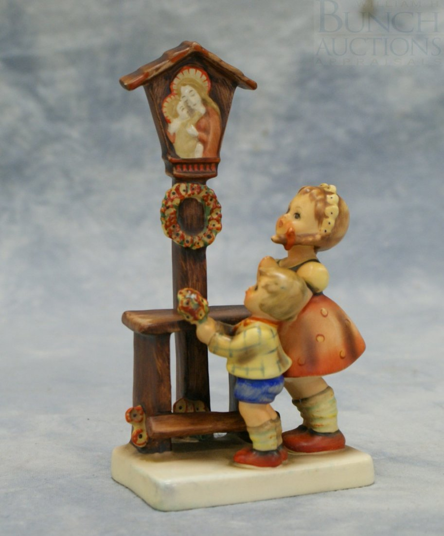 """3093: Hummel figurine, """"Adoration"""" no23/1, TMK-3, 6 1/2"""