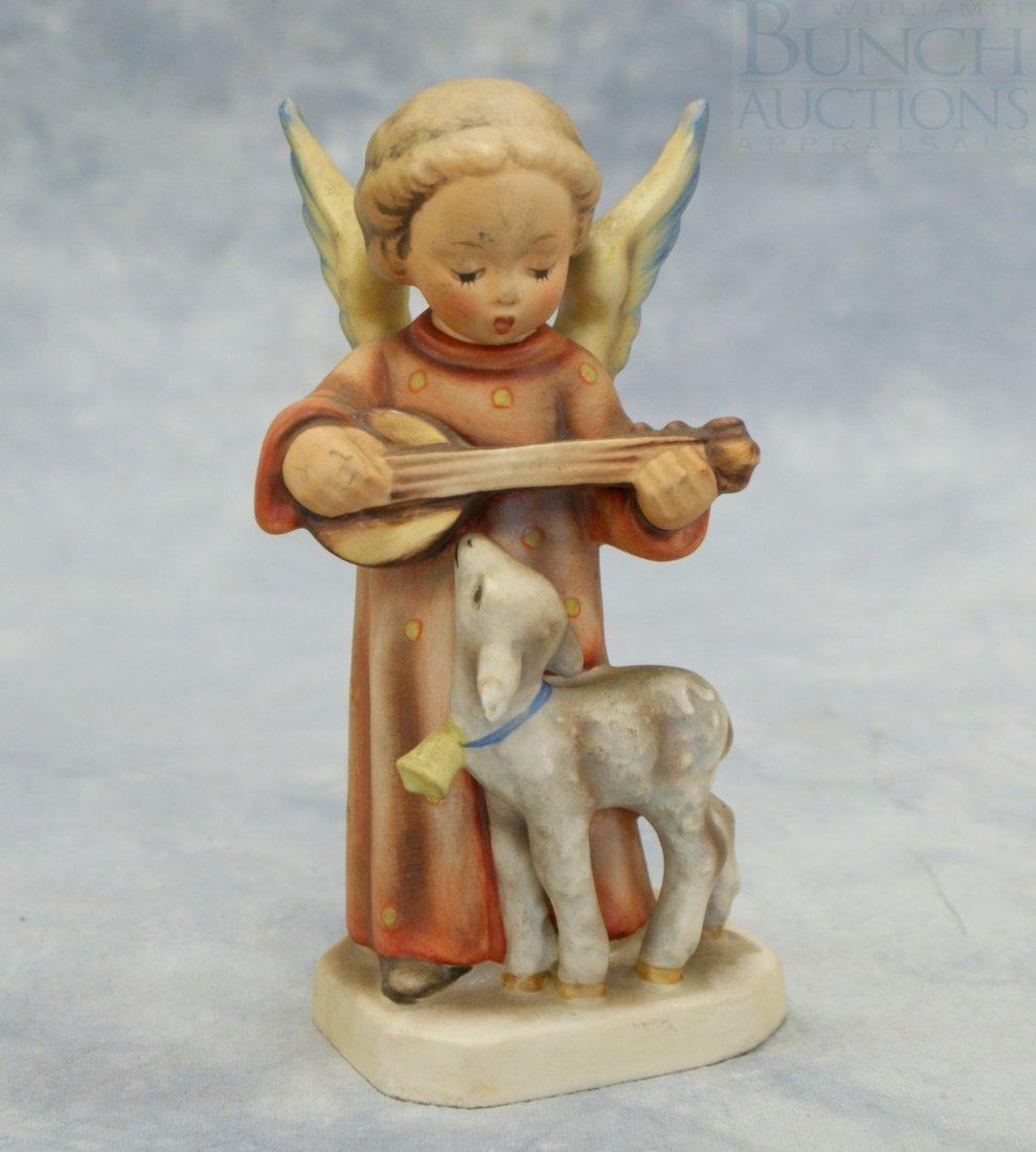 "3094: Hummel figurine, ""Angel Serenade"" no 83, full bee"