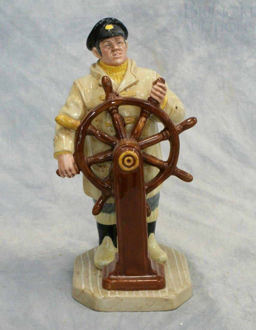 3008C: Royal Doulton The Helmsman Figurine, HN2499, 9 1