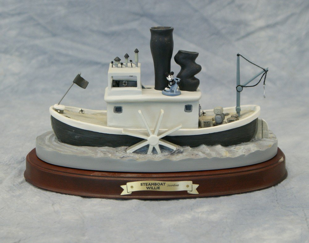 """3040F: Steamboat Willie, """"Steamboat"""", Mickey's 70th Ann"""