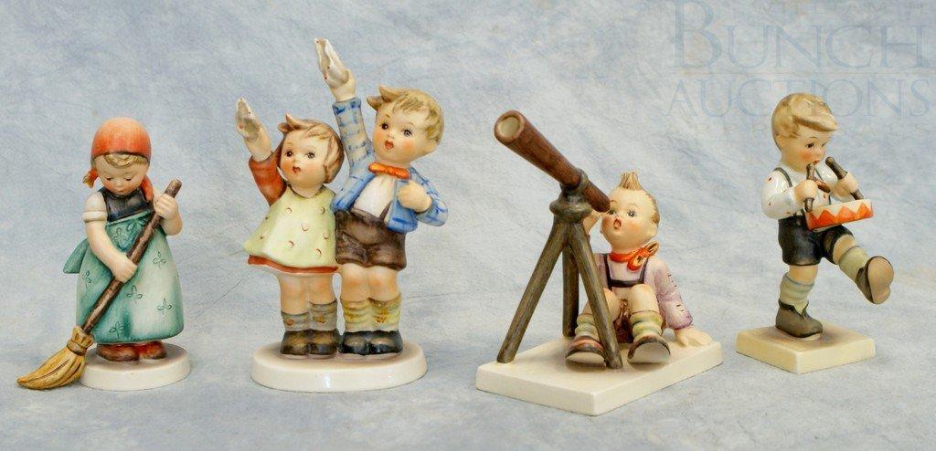 3153A: (4) Hummel figurines, Star Gazer 132 TMK-3, Auf
