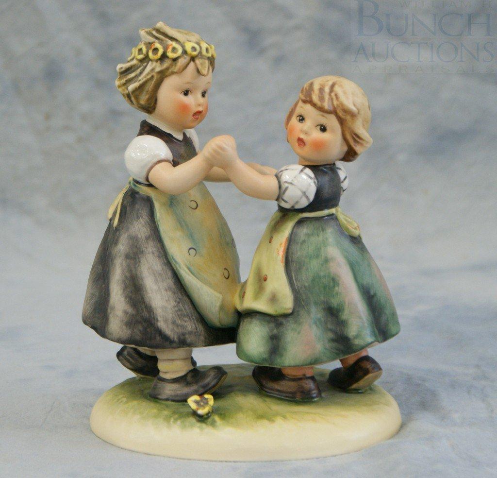 3153B: Hummel figurine, Spring Dance 353/1 TMK-4, 6 3/4