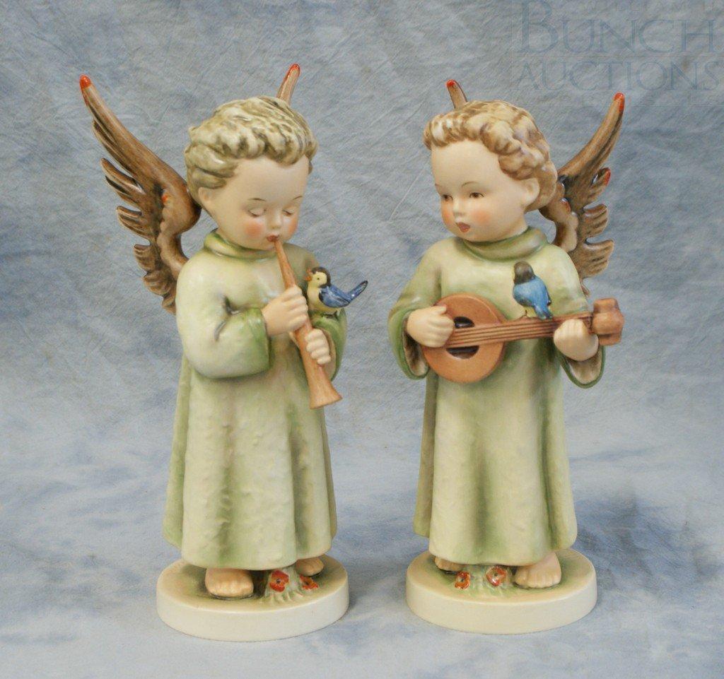 3153D: (2) Hummel figurines, Festival Harmony, 172/II,