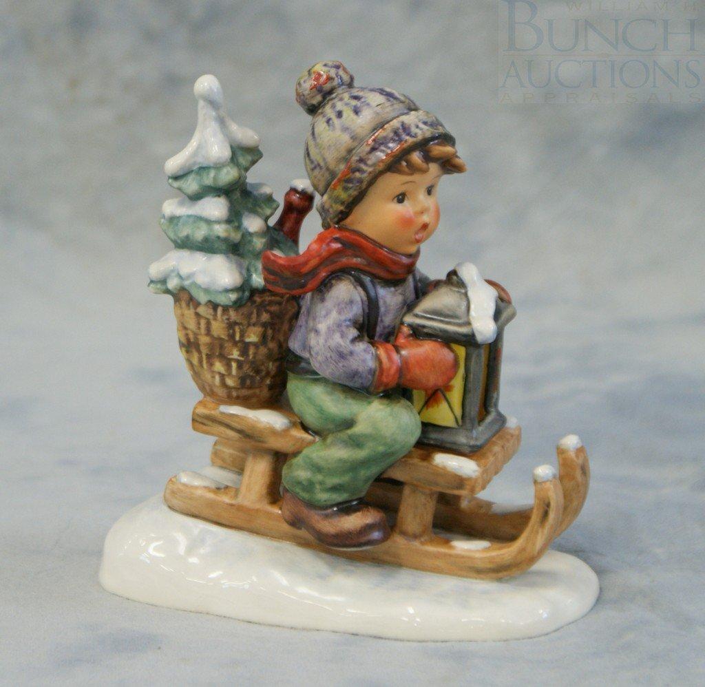 3153E: Hummel figurine, Ride Into Christmas, 396/TMK5,
