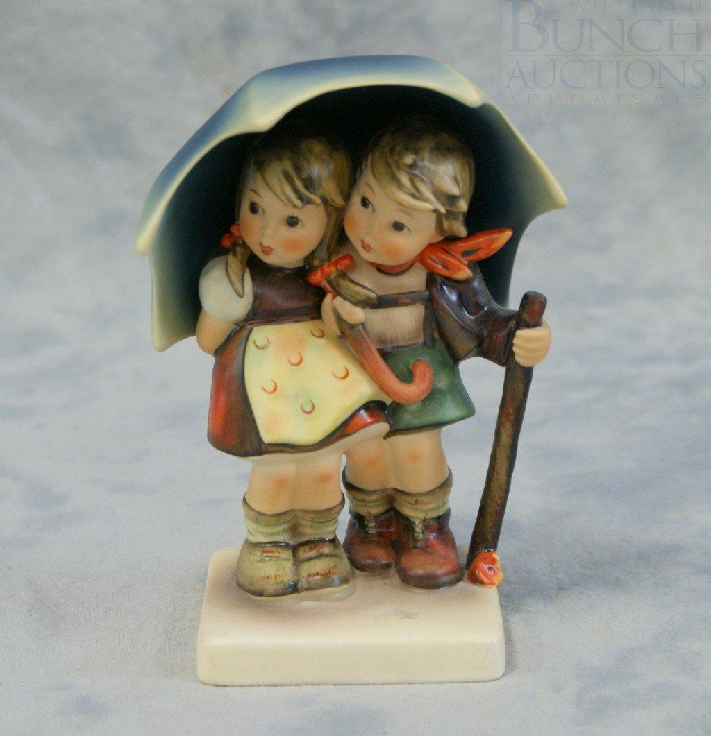 3153I: Hummel figurine, Stormy Weather, 71, TMK3, 5 3/4
