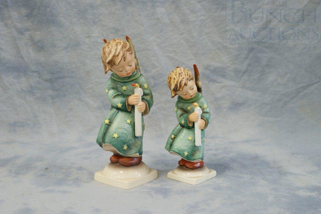 3153M: (2) Hummel figurines, Heavenly Angel, 21/I, TMK6