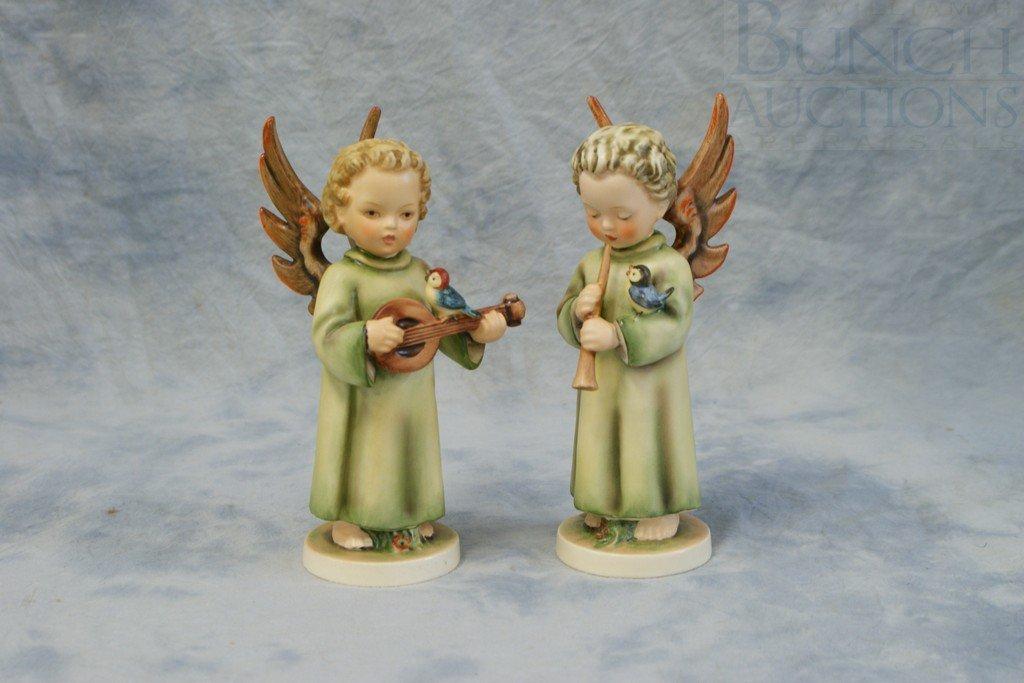 3153N: (2) Hummel figurines, Festival Harmony, 173/O, T