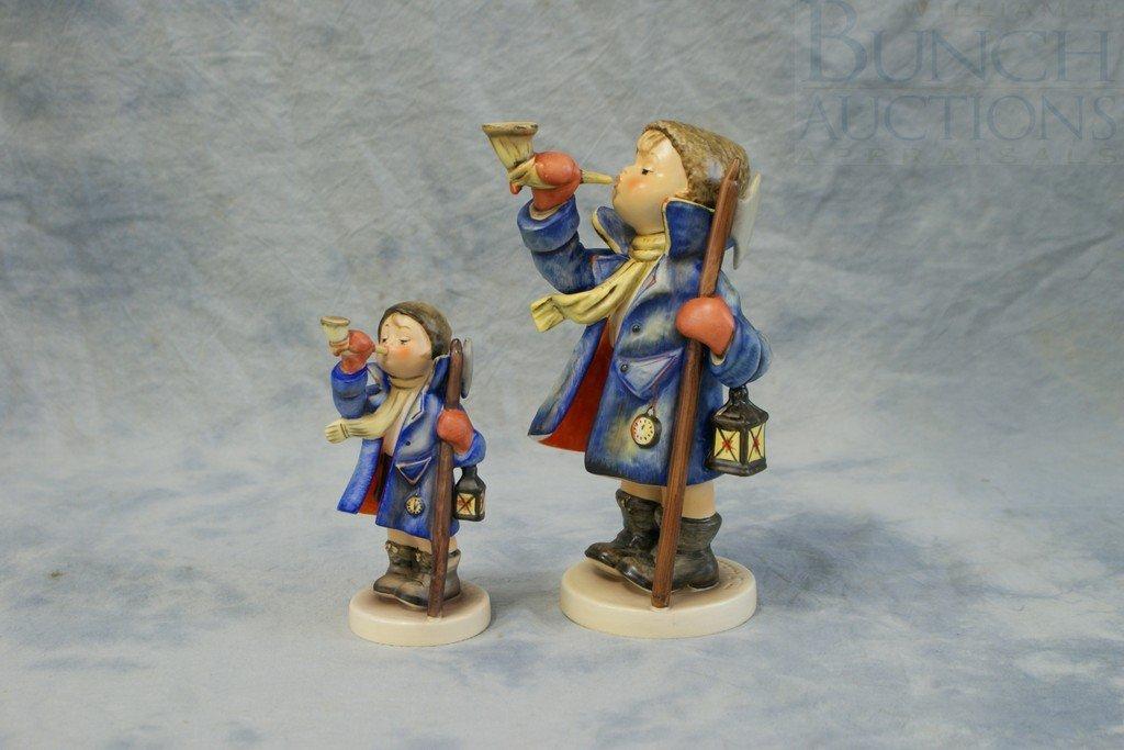 3153O: (2) Hummel figurines, Hear Ye, Hear Ye, 15/O, TM